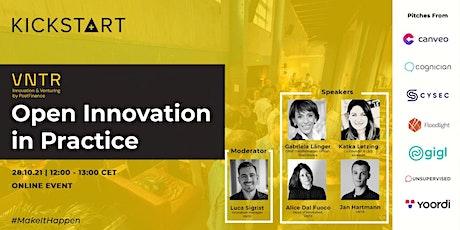 Open Innovation in Practice - Kickstart Innovation X PostFinance tickets