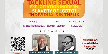 Tackling Sexual Exploitation and Modern Slavery of LGBTQI Individuals in UK tickets