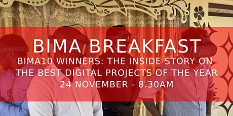 BIMA10 Winners: The inside story on the best digital projects of the year tickets