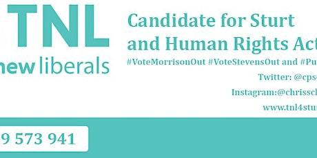 Meet the Candidate Day - #TNL4Sturt tickets