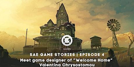 SAE GAME STORIES | Meet Game designer Valentina Chrysostomou tickets