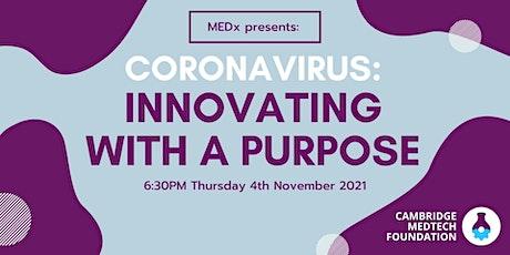 Coronavirus: Innovating with a Purpose tickets