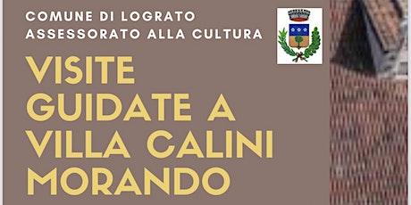 Visite guidate a Villa Calini Morando domenica 31/10 biglietti