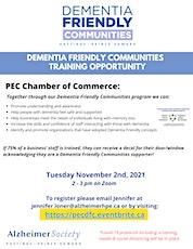 PEC Chamber Dementia Friendly Communities Training tickets