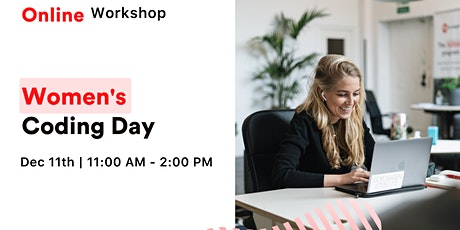 Women's Coding Day - Learn to code for free in December! tickets