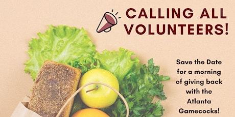 ATL Gamecocks Volunteering at Solidarity Sandy Springs Food Pantry! tickets