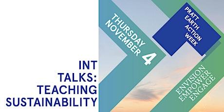 INTtalks: Teaching Sustainability I tickets