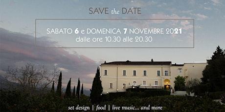 Castello Ducale Castel Campagnano OPEN WEDDING DAY NOV 2021 biglietti