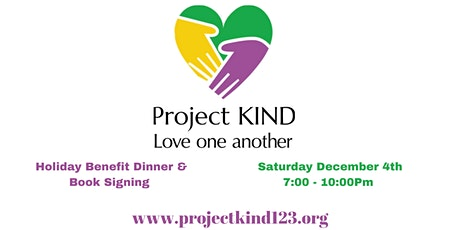 Copy of Project Kind's  A December To Remember Benefit Dinner tickets