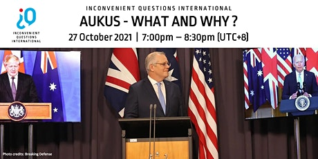 [IQi] AUKUS - What and Why? Tickets