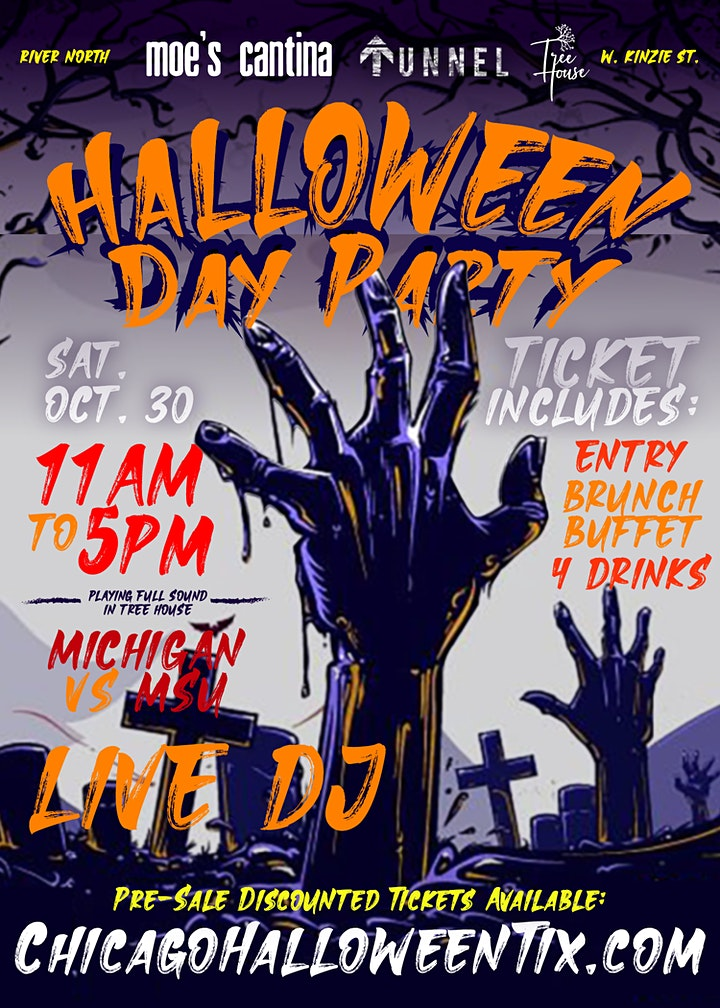 Halloween DAY Party in River North - Sat. Oct. 30th - Chicago image