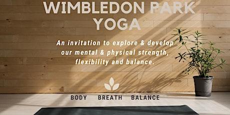 Wimbledon Park Yoga tickets