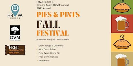 HRVA Homes & Chip Simkins-OVM Financial Pies & Pints Fall Fest 2021 tickets