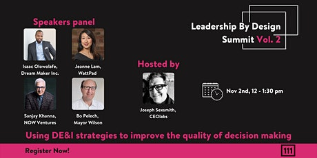 Leadership by Design Vol 2 (Using DE&I for improved decision making) tickets