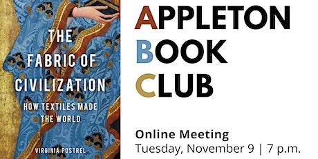 "Appleton Book Club: ""The Fabric of Civilization"" tickets"