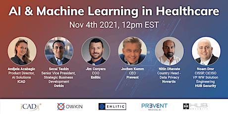 AI and Machine Learning in Healthcare biglietti