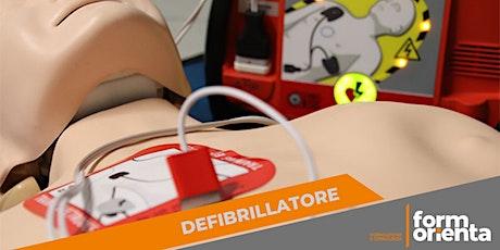 Corso di formazione per l'utilizzo del Defibrillatore (DAE) BLS-D biglietti