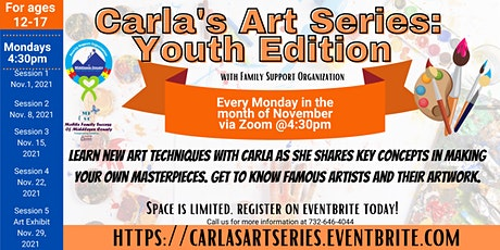 Carla's Painting Series: Youth Edition with FSC (Middlesex County Youth) tickets