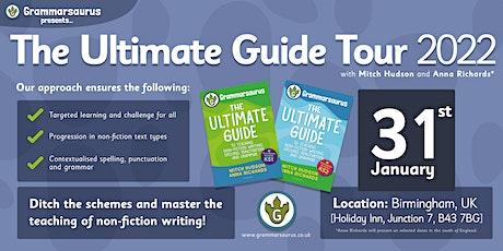 Grammarsaurus - The Ultimate Guide Tour - Birmingham tickets