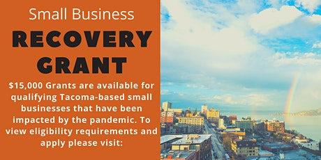 Small Business Recovery Grant Application Workshop tickets