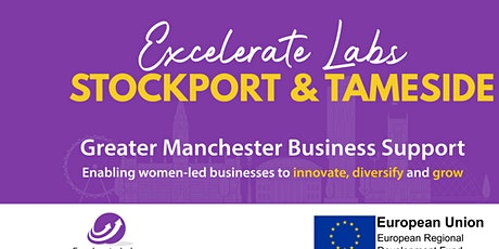 Excelerate Women - Stockport & Tameside Business Growth Programme tickets