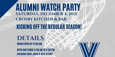 Villanova Alumni Watch Party at Crosby Kitchen and Bar tickets