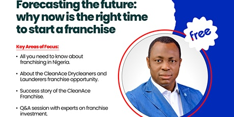 Forecasting the Future: Why Now Is the Right Time to Start a Franchise tickets