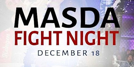 Masda Fight Night - MMA - MuayThai - K1 tickets