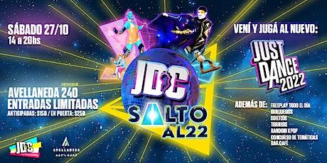 Just Dance Córdoba Party: Salto al 22 entradas