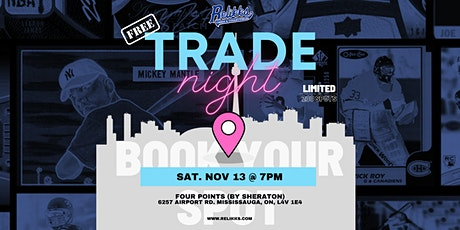 Sports Card Trade Night Hosted By Relikks tickets