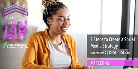 7 Steps to Create a Social  Media Strategy tickets