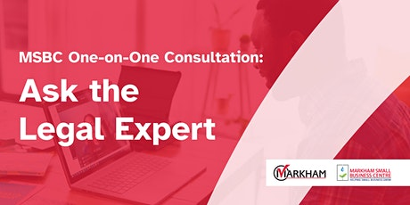 MSBC One-on-One Consultation: Ask the Legal Expert tickets