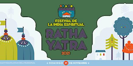 Festival de la India Espiritual - Ratha Yatra 2021 (Presencial) entradas