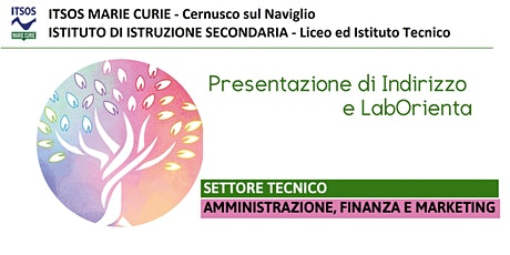 ITSOS Marie Curie - AMMINISTRATIVO - PRESENTAZIONE DI INDIRIZZO biglietti