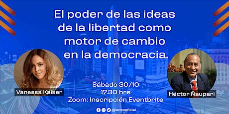 El poder de las ideas de la libertad como motor de cambio en la democracia. entradas