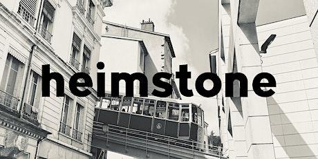 Heimstone Talk - Pop-up Lyon billets