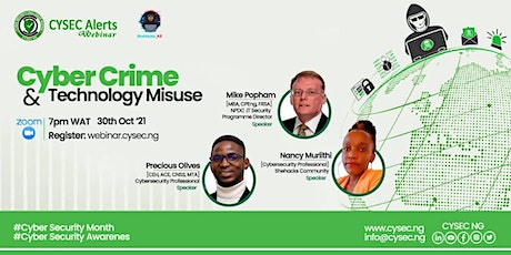 Cybercrime and Technology Misuse in Africa tickets