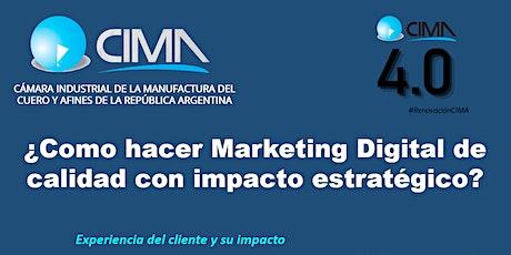 ¿Cómo hacer Marketing de Calidad con impacto estratégico? entradas