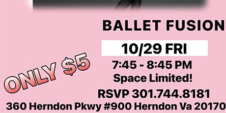 Adults Ballet Fusion Tryouts Reston tickets