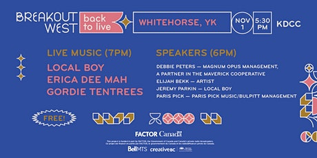 Back to Live - Whitehorse tickets