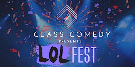 Class Comedy presents: LOLfest tickets