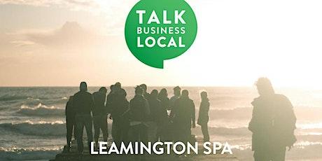 Talk Business Local - Leamington @ Bar+Block tickets