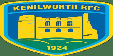 Kenilworth RFC - Food at the Club Ticket tickets