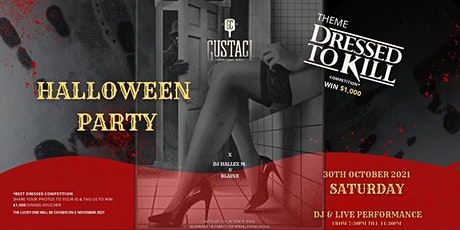 Gustaci Halloween Party tickets