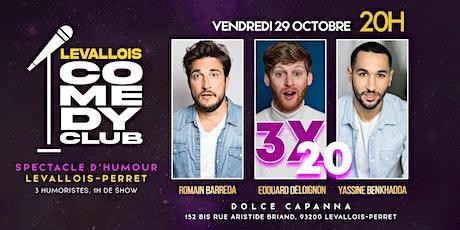 Levallois Comedy Club: 3x20 minutes billets