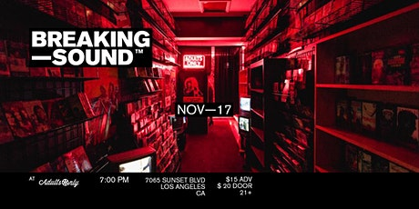 Breaking Sound LA ft. Lila Forde, Russell Jamie Johnson, + more tickets