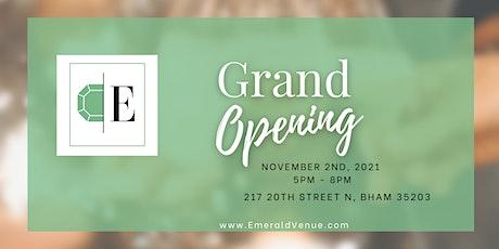 Emerald Venue Grand Opening tickets