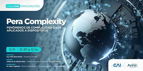 #CiclosCAI - Innovación. Pera Complexity. Fenómeno entradas