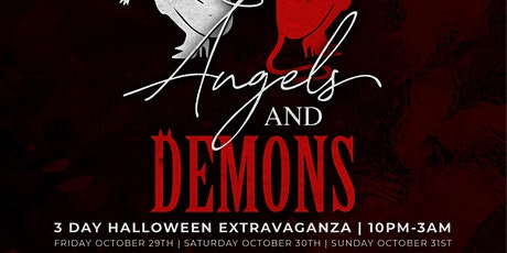 Angels & Demons   Costume Party Halloween Weekend tickets