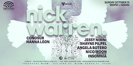 NICK WARREN @ Treehouse Miami tickets